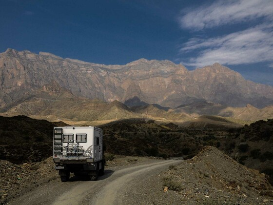 Oman - Blick auf Jebel Shams